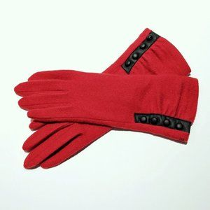 Lauren Ralph Lauren Women's Four-Button Gloves